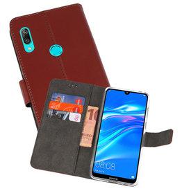 Wallet Cases Hoesje Huawei Y7 / Y7 Prime (2019) Bruin
