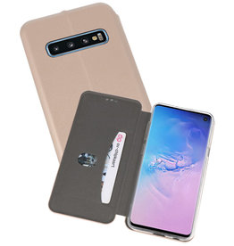 Slim Folio Case Samsung Galaxy S10 Goud