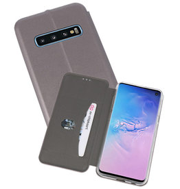 Slim Folio Case Samsung Galaxy S10 Grijs