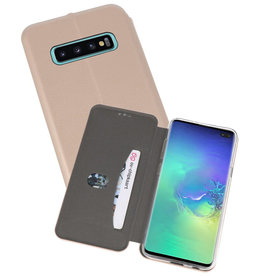 Slim Folio Case Samsung Galaxy S10 Plus Goud