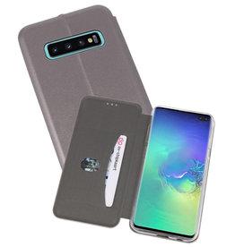 Slim Folio Case Samsung Galaxy S10 Plus Grijs