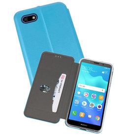 Slim Folio Case Huawei Y5 Lite / Y5 Prime 2018 Blauw