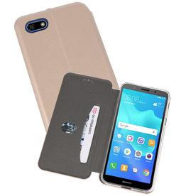 Slim Folio Case Huawei Y5 Lite / Y5 Prime 2018 Goud