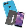 Slim Folio Case Huawei Y7 / Y7 Prime 2018 Blauw