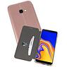 Slim Folio Case Samsung Galaxy J4 Plus Roze