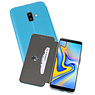 Blauw Slim Folio Case Samsung Galaxy J6 Plus