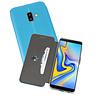 Slim Folio Case Samsung Galaxy J6 Plus Blauw