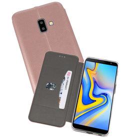 Slim Folio Case Samsung Galaxy J6 Plus Roze