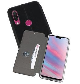 Slim Folio Case Huawei Y9 2019 Zwart