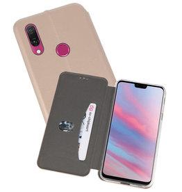 Slim Folio Case Huawei Y9 2019 Goud