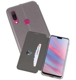Slim Folio Case Huawei Y9 2019 Grijs