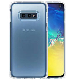 Schokbestendig Back Cover Hoesje Samsung Galaxy S10 Plus Transparant