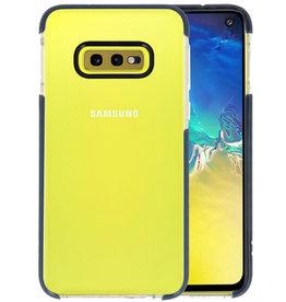 Armor TPU Hoesje Samsung Galaxy S10e Transparant / Zwart