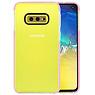 Armor TPU Hoesje Samsung Galaxy S10e Transparant / Roze