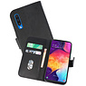Bookstyle Wallet Cases Hoesje Samsung Galaxy A50 Zwart