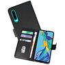 Bookstyle Wallet Cases Hoesje Huawei P30 Zwart
