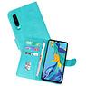 Bookstyle Wallet Cases Hoesje Huawei P30 Groen