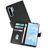Bookstyle Wallet Cases Hoesje Huawei P30 Pro Zwart
