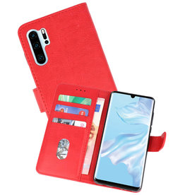 Bookstyle Wallet Cases Hoesje Huawei P30 Pro Rood