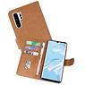 Bookstyle Wallet Cases Hoesje Huawei P30 Pro Bruin