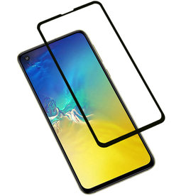 3D Tempered Glass Samsung Galaxy S10e Zwart