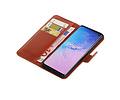 Zakelijke Bookstyle Hoesje voor Samsung Galaxy S10 Bruin