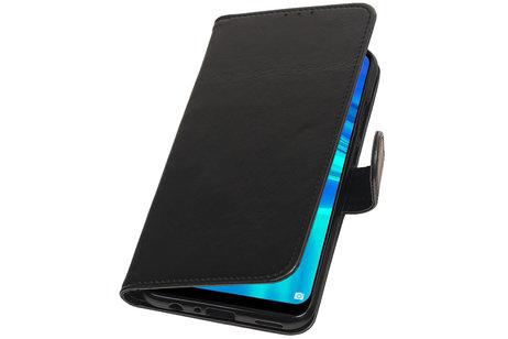 Zakelijke Bookstyle Hoesje voor Huawei Honor 10 Lite Zwart