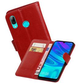 Zakelijke Bookstyle Hoesje Huawei Honor 10 Lite Rood