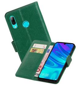 Zakelijke Bookstyle Hoesje Huawei Honor 10 Lite Groen
