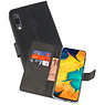 Wallet Cases Hoesje Samsung Galaxy A30 Zwart