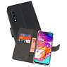 Wallet Cases Hoesje Samsung Galaxy A70 Zwart