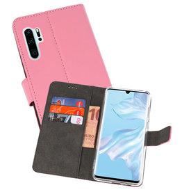Wallet Cases Hoesje Huawei P30 Pro Roze