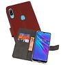 Wallet Cases Hoesje Huawei Y6 / Y6 Prime 2019 Bruin