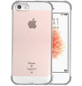Schokbestendig TPU hoesje iPhone 5 Transparant