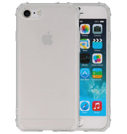 Schokbestendig Back Cover Hoesje iPhone SE 2020 / 8 / 7 Transparant