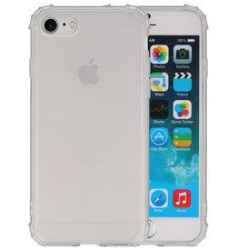 Schokbestendig TPU hoesje iPhone 8 / 7 Transparant
