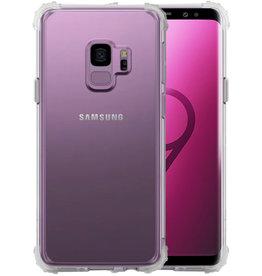 Schokbestendig Back Cover Hoesje Samsung Galaxy S9 Transparant
