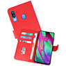Bookstyle Wallet Cases Hoesje Samsung Galaxy A40 Rood