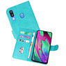 Bookstyle Wallet Cases Hoesje Samsung Galaxy A40 Groen
