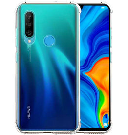 Schokbestendig Back Cover Hoesje Huawei P30 Lite Transparant