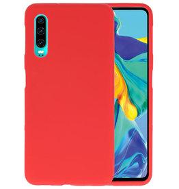 Color TPU Hoesje Huawei P30 Rood