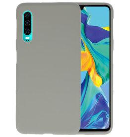 BackCover Hoesje Color Telefoonhoesje Huawei P30 - Grijs