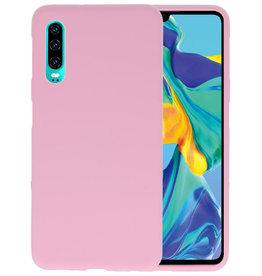 BackCover Hoesje Color Telefoonhoesje Huawei P30 - Roze