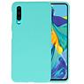 BackCover Hoesje Color Telefoonhoesje Huawei P30 - Turquoise