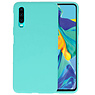 Color TPU Hoesje Huawei P30 Turquoise