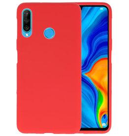 Color TPU Hoesje Huawei P30 Lite Rood