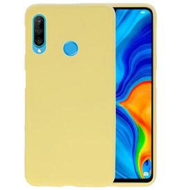 Color TPU Hoesje Huawei P30 Lite Geel