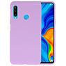 Color TPU Hoesje Huawei P30 Lite Paars