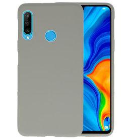 Color TPU Hoesje Huawei P30 Lite Grijs