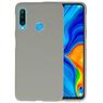 BackCover Hoesje Color Telefoonhoesje Huawei P30 Lite - Grijs